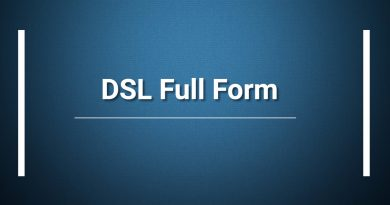 DSL Full Form
