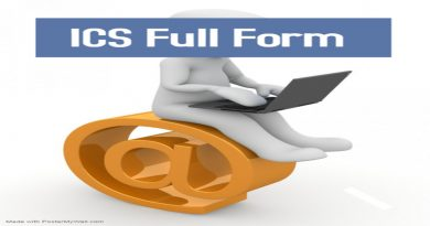 ICS Full Form