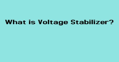 What is Voltage Stabilizer?