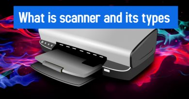 What is scanner and it types