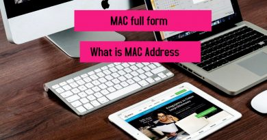 MAC full form What is MAC Address