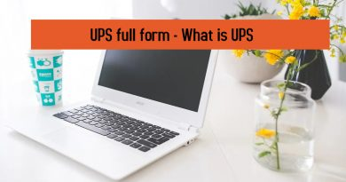 UPS full form - What is UPS