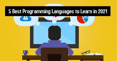 5 Best Programming Languages to Learn in 2021