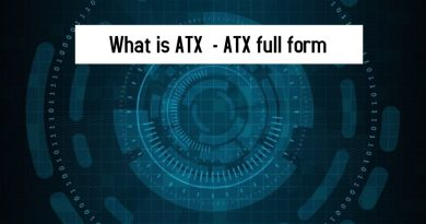 What is ATX - ATX full form
