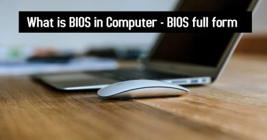 What is BIOS in Computer - BIOS full form