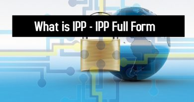 What is IPP - IPP Full Form