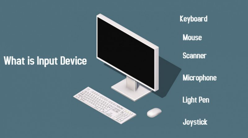 What is Input Device