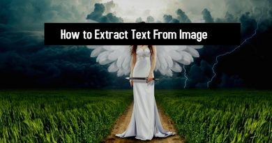 How to Extract Text From Image
